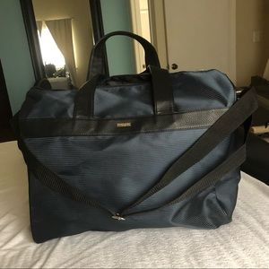 giorgio armani blue travel bag
